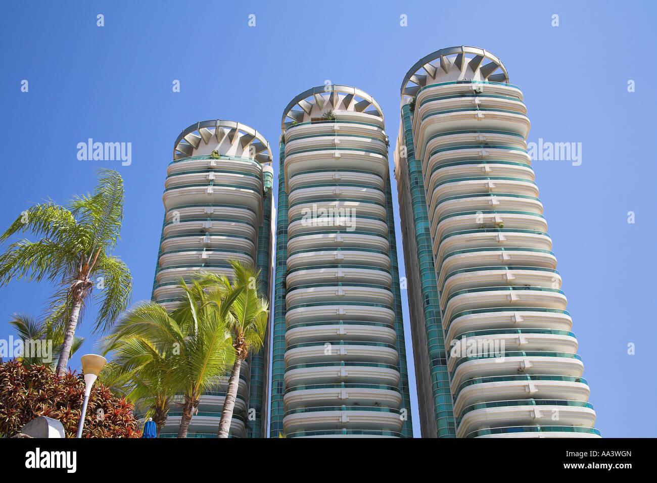 Condominio de Costa Victoria, Acapulco, Estado de Guerrero, México Foto de stock