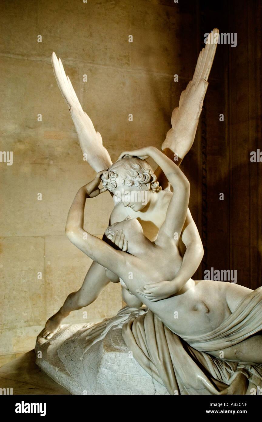 Antonio Canova Italia Italiano Amor y Psique de mármol 1786