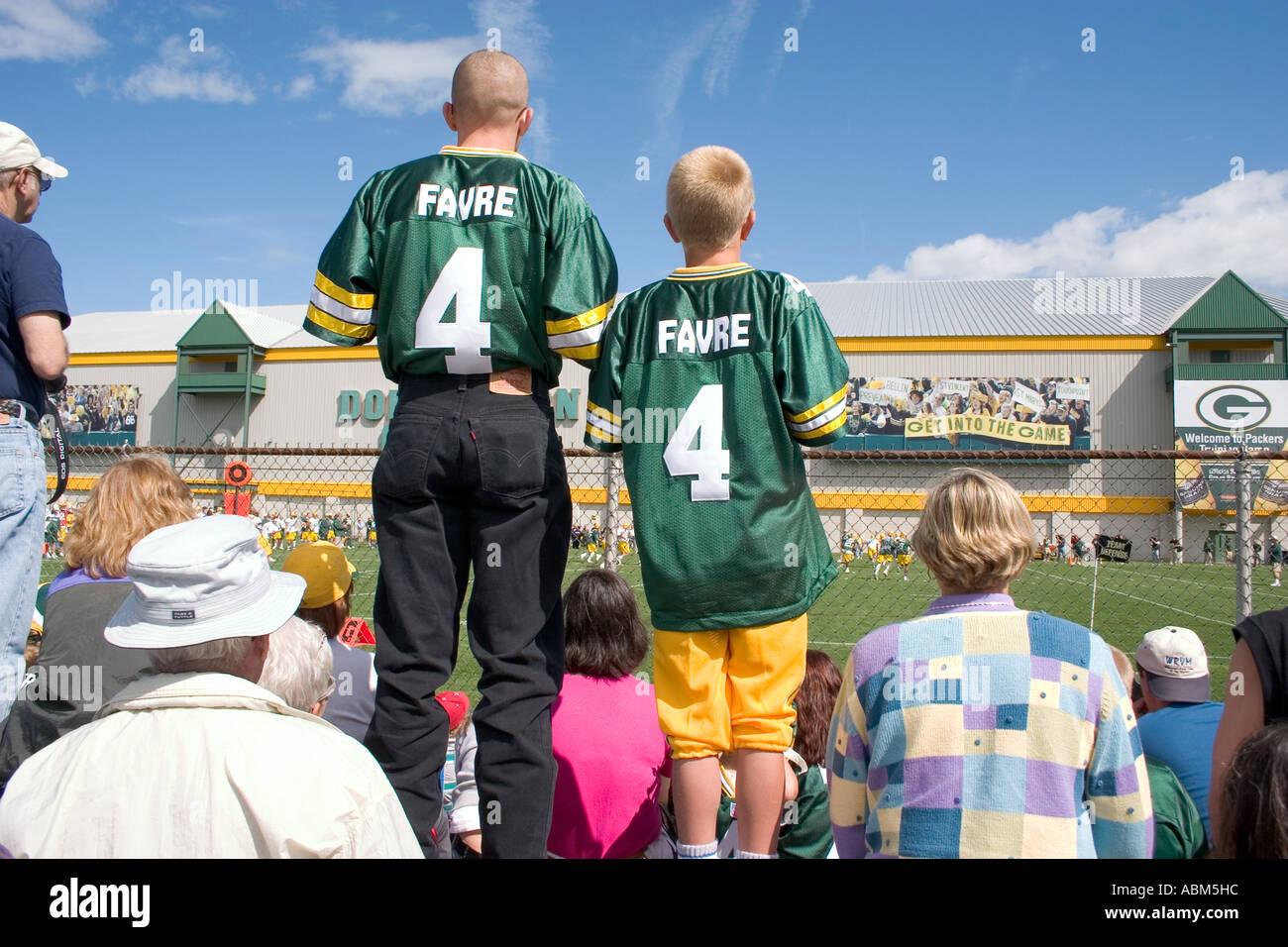 Green Bay Packers Brett Favre Imágenes De Stock & Green Bay Packers ...