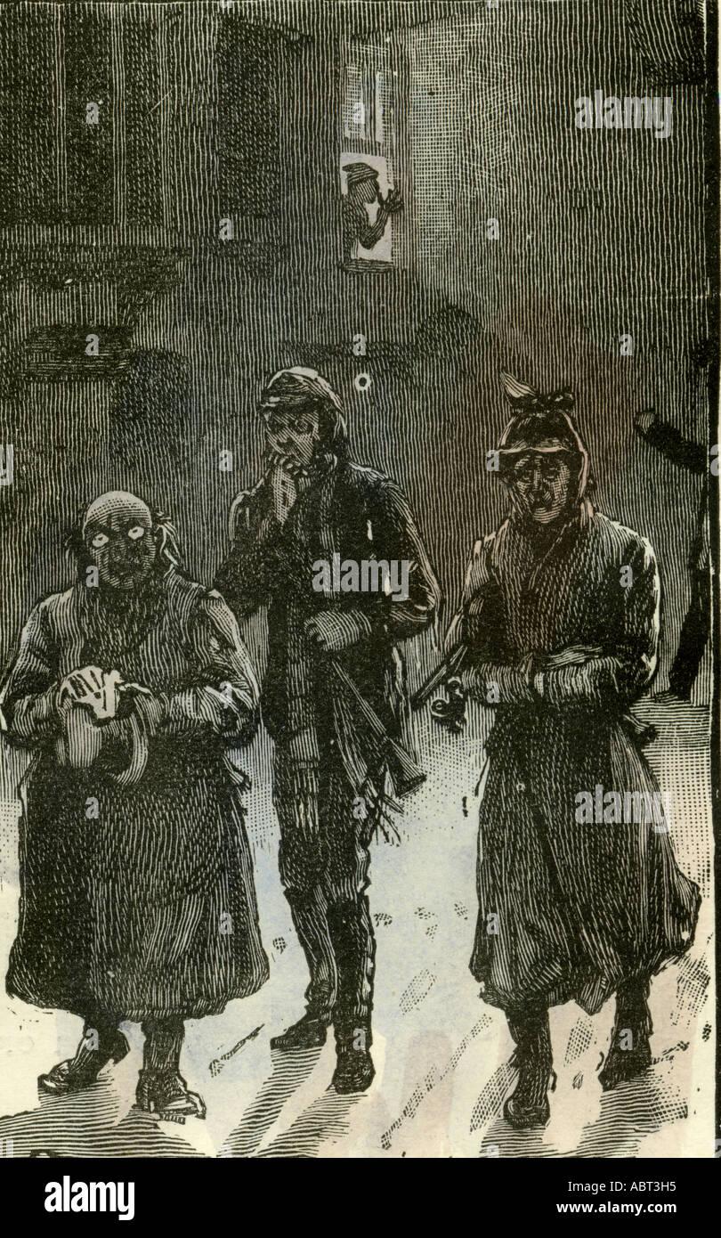 Regresando de la casa solariega, 1892 Imagen De Stock
