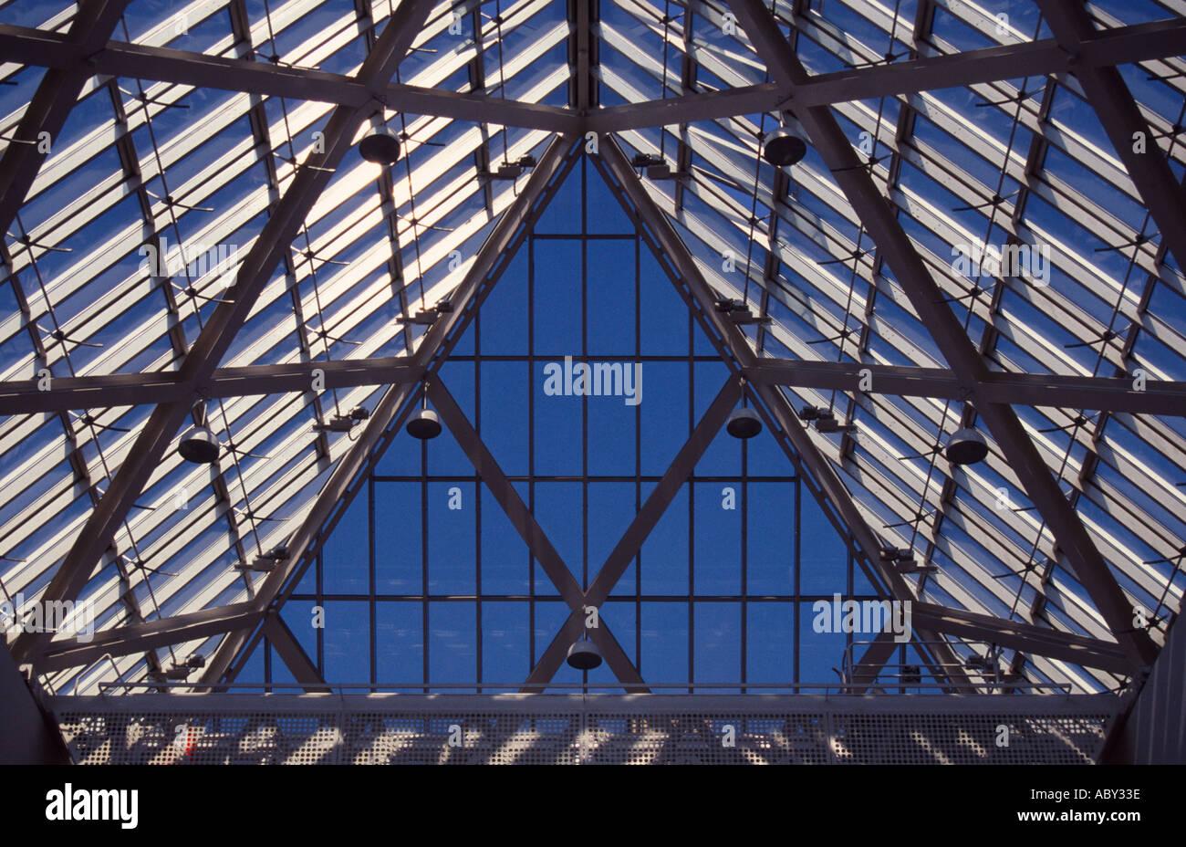Atrio del Museo Nacional Nationalmuseet Copenhague Dinamarca Foto de stock