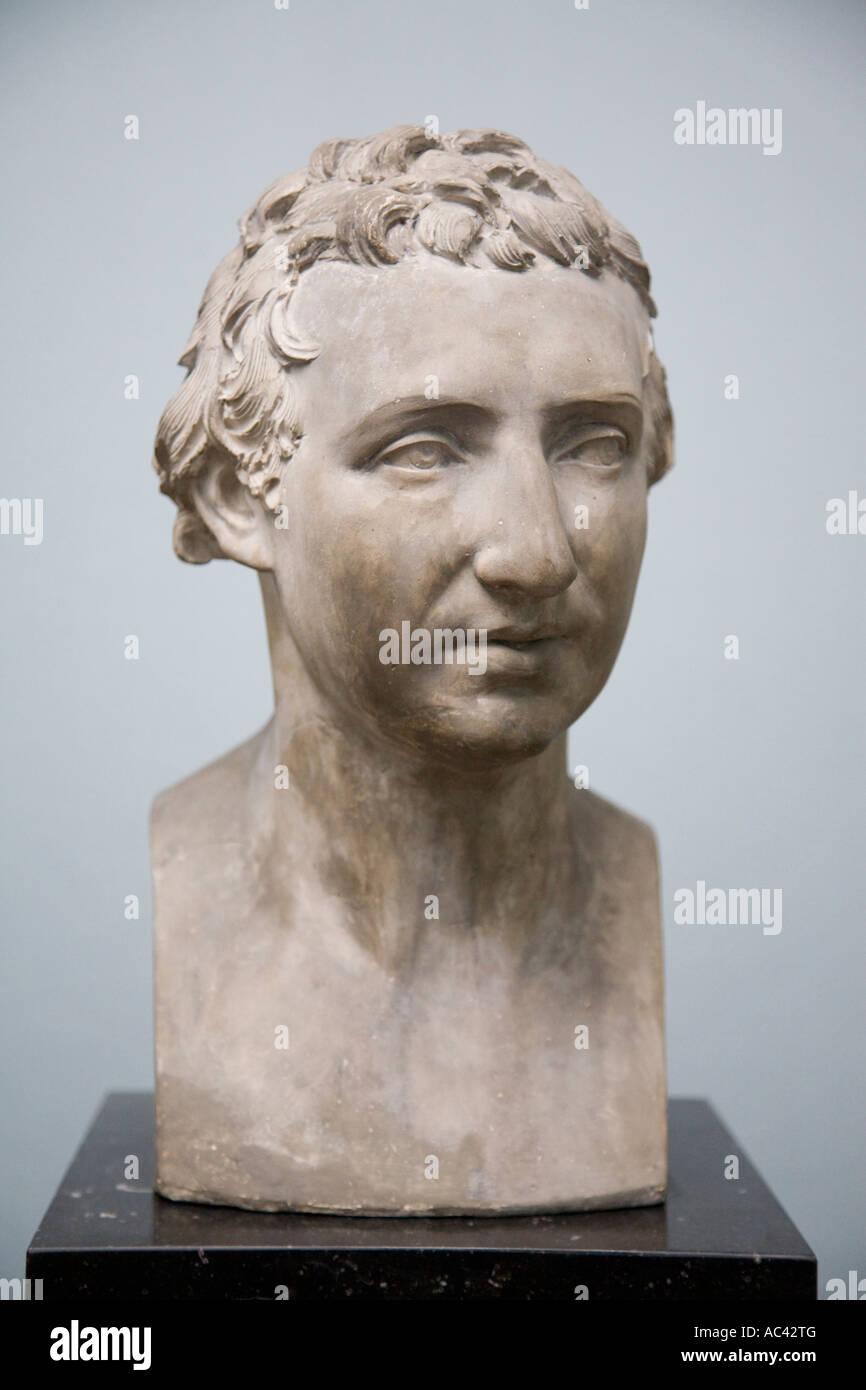 Autorretrato 1790 94 por Johann Gottfried Schadow 1764 1850, Alte Nationalgalerie, Berlín, Alemania Foto de stock
