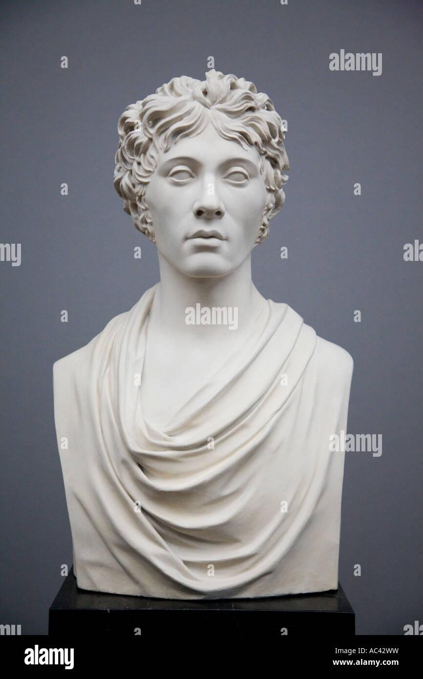 Friedrich Gilly 1801 por Johann Gottfried Schadow 1764 1850, Alte Nationalgalerie, Berlín, Alemania Foto de stock