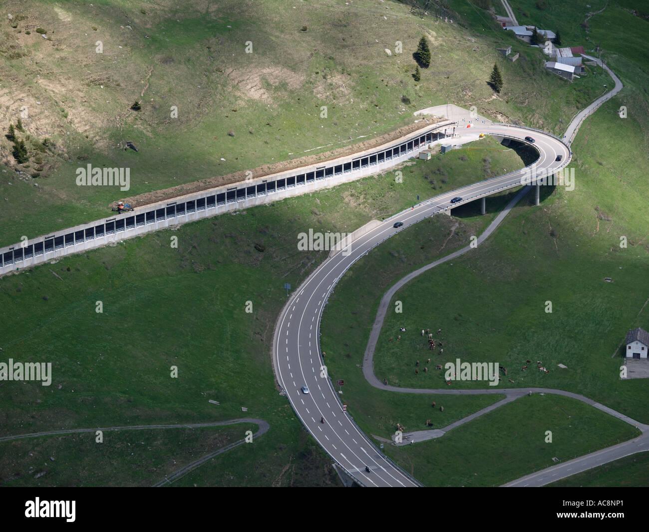 Saint Gotthard Tunnel Fotos e Imágenes de stock - Alamy