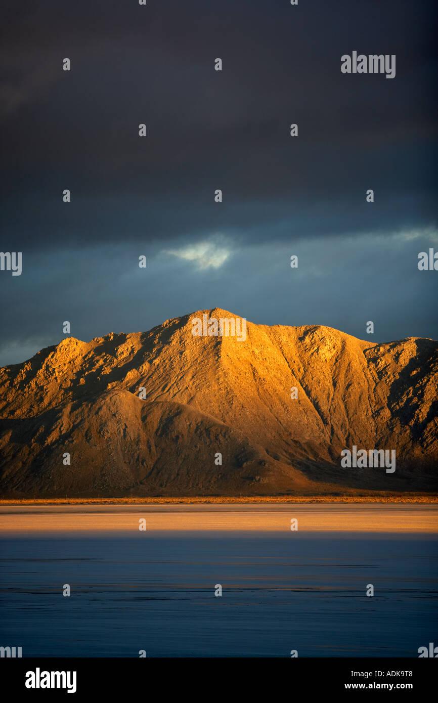 El rey Lear Pico en South Jackson Mountrain Desierto en el desierto Black Rock Área Nacional de Conservación y el desierto de Nevada Imagen De Stock