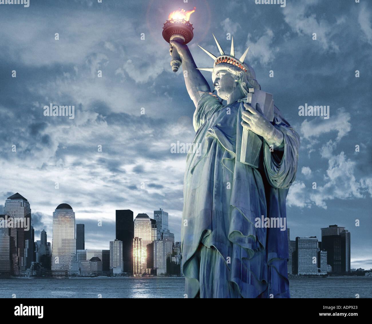 Estados Unidos - NUEVA YORK: Concepto de viaje Foto de stock