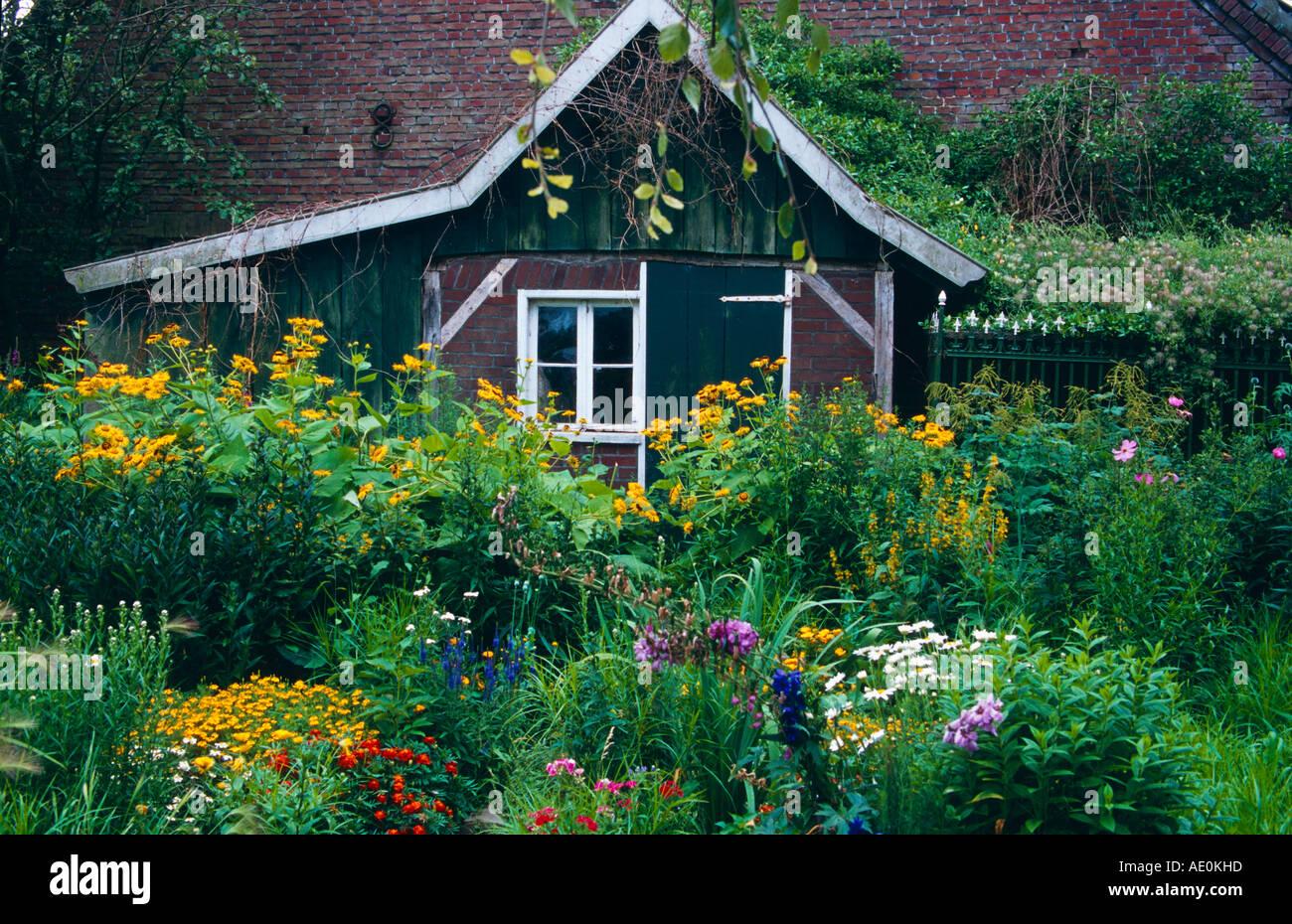 Garten deutschland Alemania jardín hermoso aspecto Imagen De Stock