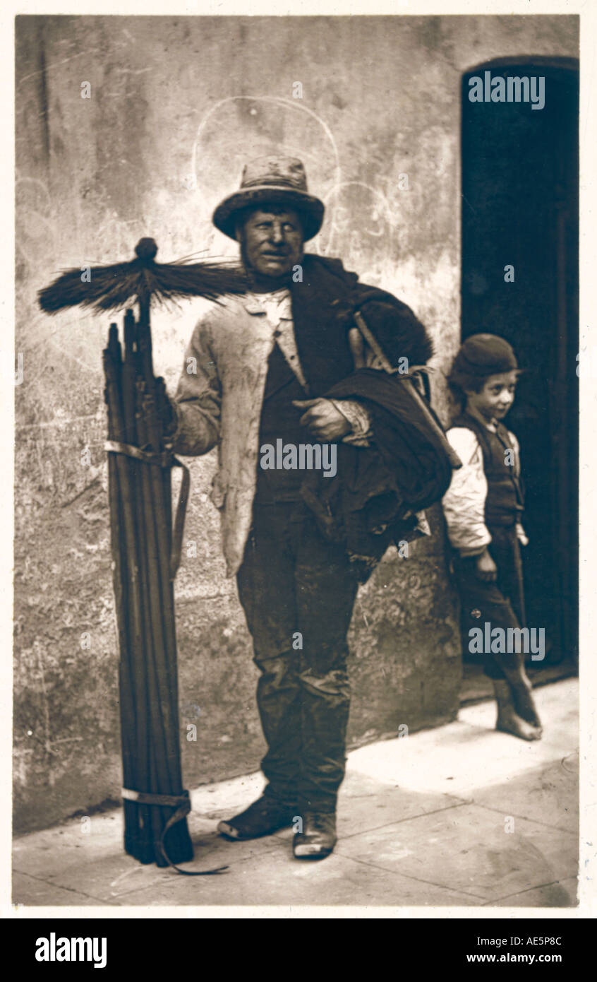 Deshollinador Boy 1877 Foto de stock