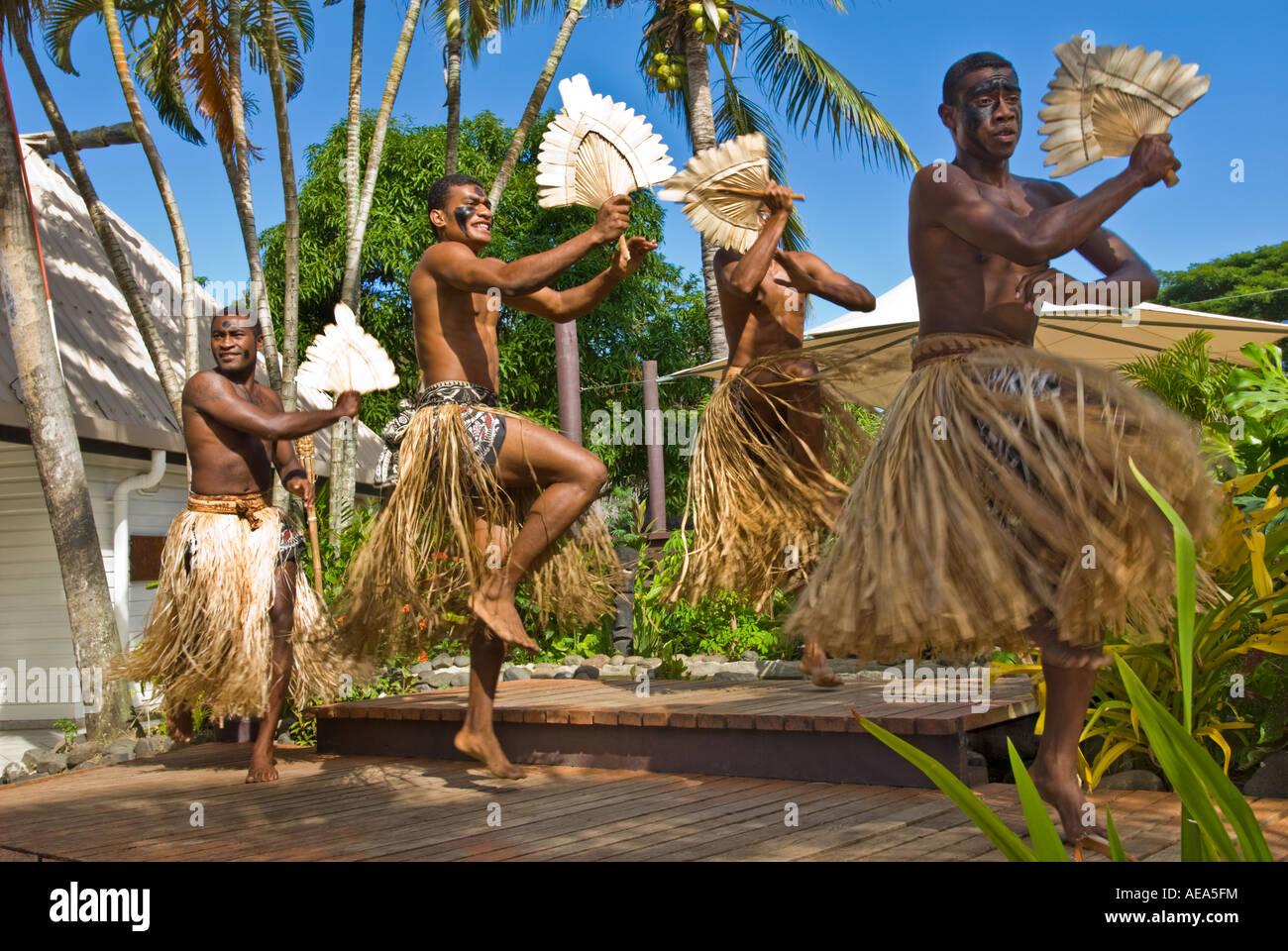 Las islas de Fiji, Viti Levu SIGATOKA kalevu pacífico sur centro cultural villa histórica tradición Imagen De Stock