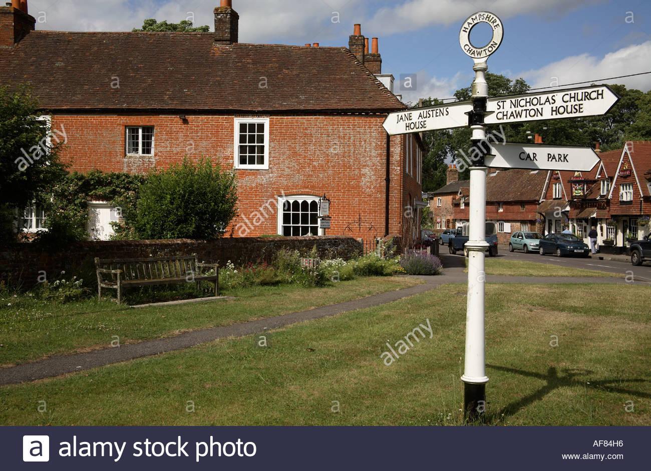 La casa de Jane Austen, Chawton, Hampshire Imagen De Stock