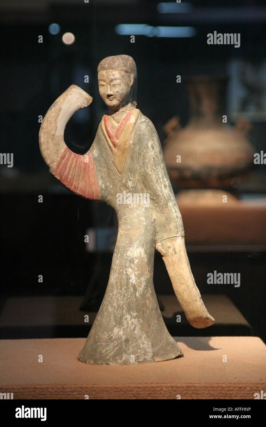 Estatua antigua china china agosto 2007 Foto de stock