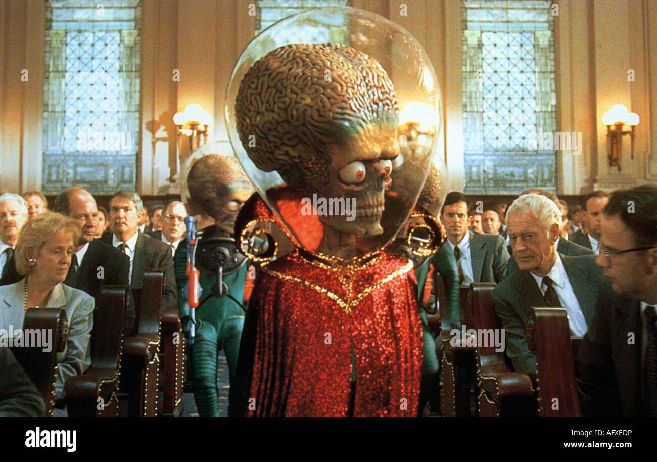 MARS ATTACKS - 1996 Warner cine Imagen De Stock