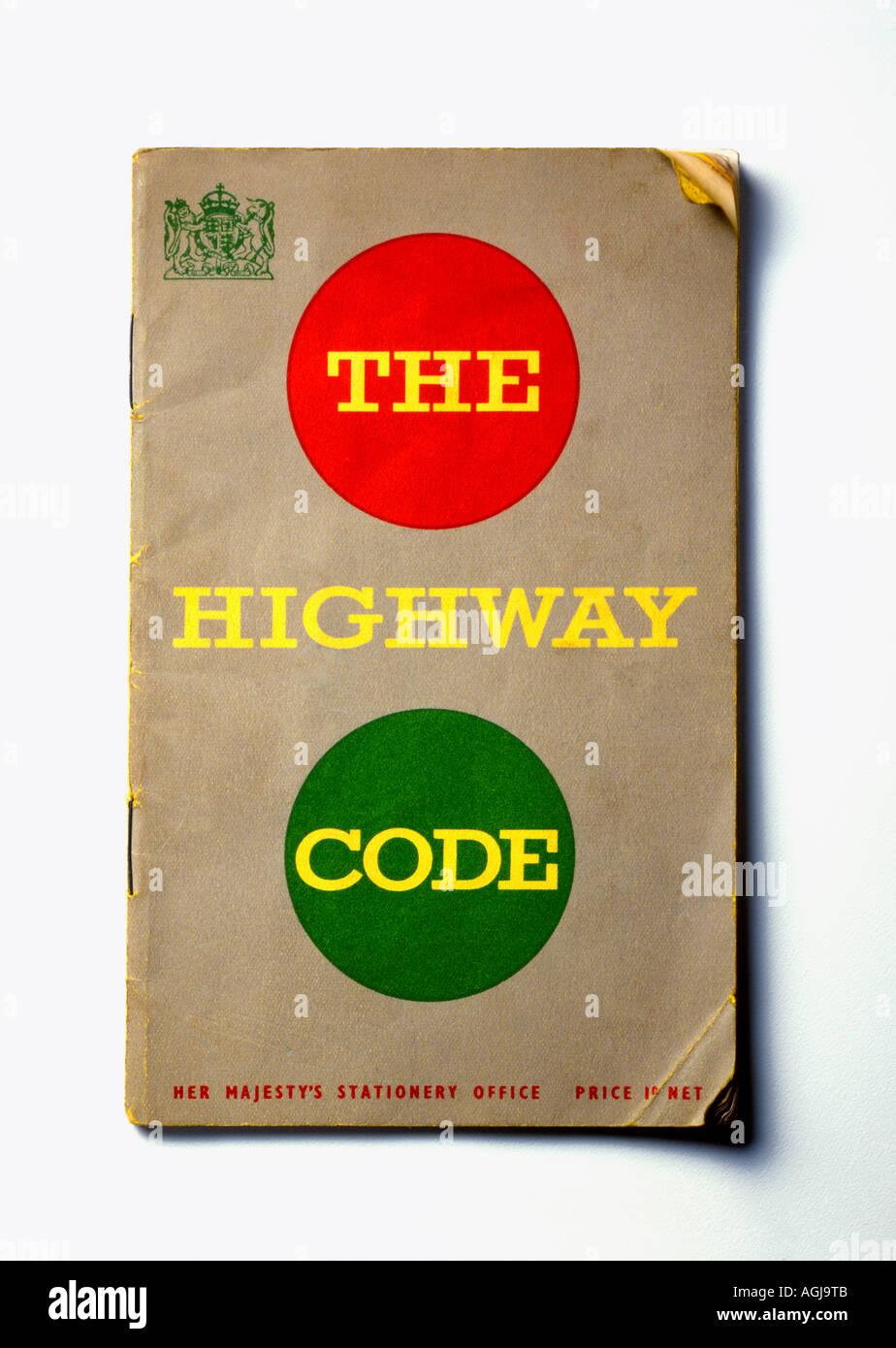 El código de la circulación libro Imagen De Stock