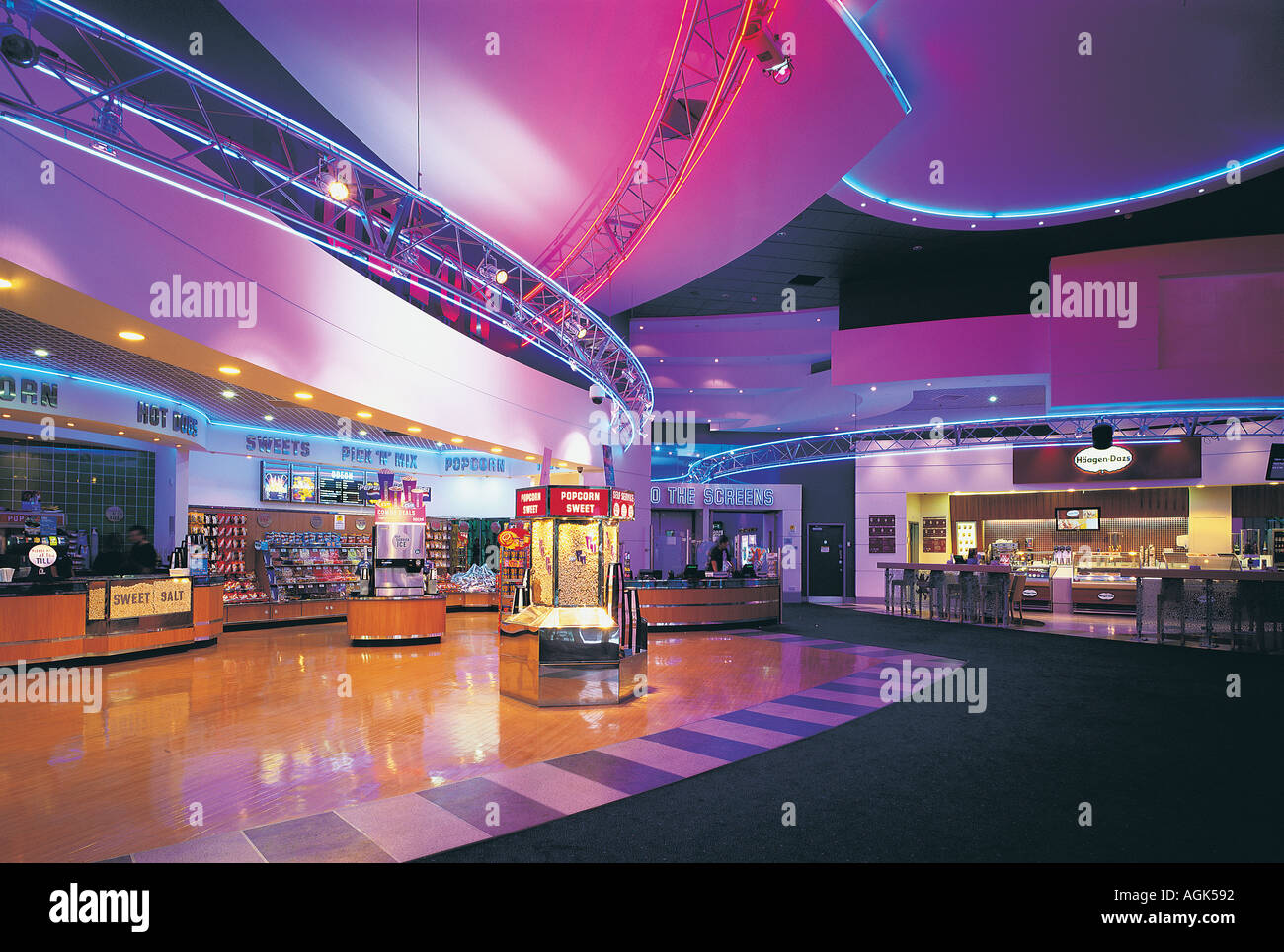 El Gate cinema Newgate Street Newcastle Upon Tyne UK Imagen De Stock