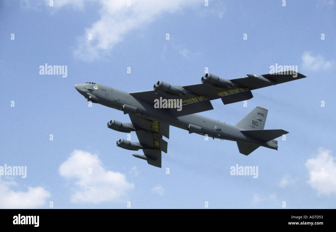 Boeing B52 Stratofortress Foto de stock