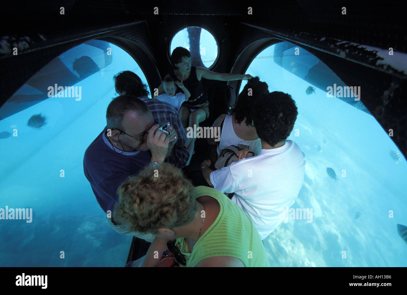 Martinica viaje submarino submarino Imagen De Stock