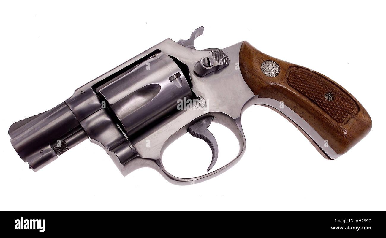 Isolated Firearm Silhouette Pistol Imágenes De Stock & Isolated ...