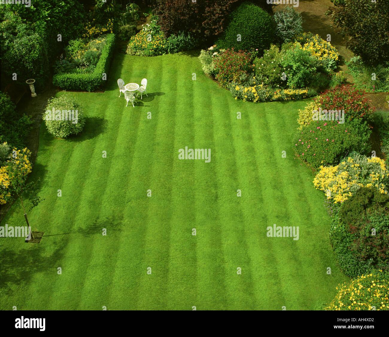 GB - GLOUCESTERSHIRE: Jardín Escena en Parkgate en Cheltenham Imagen De Stock