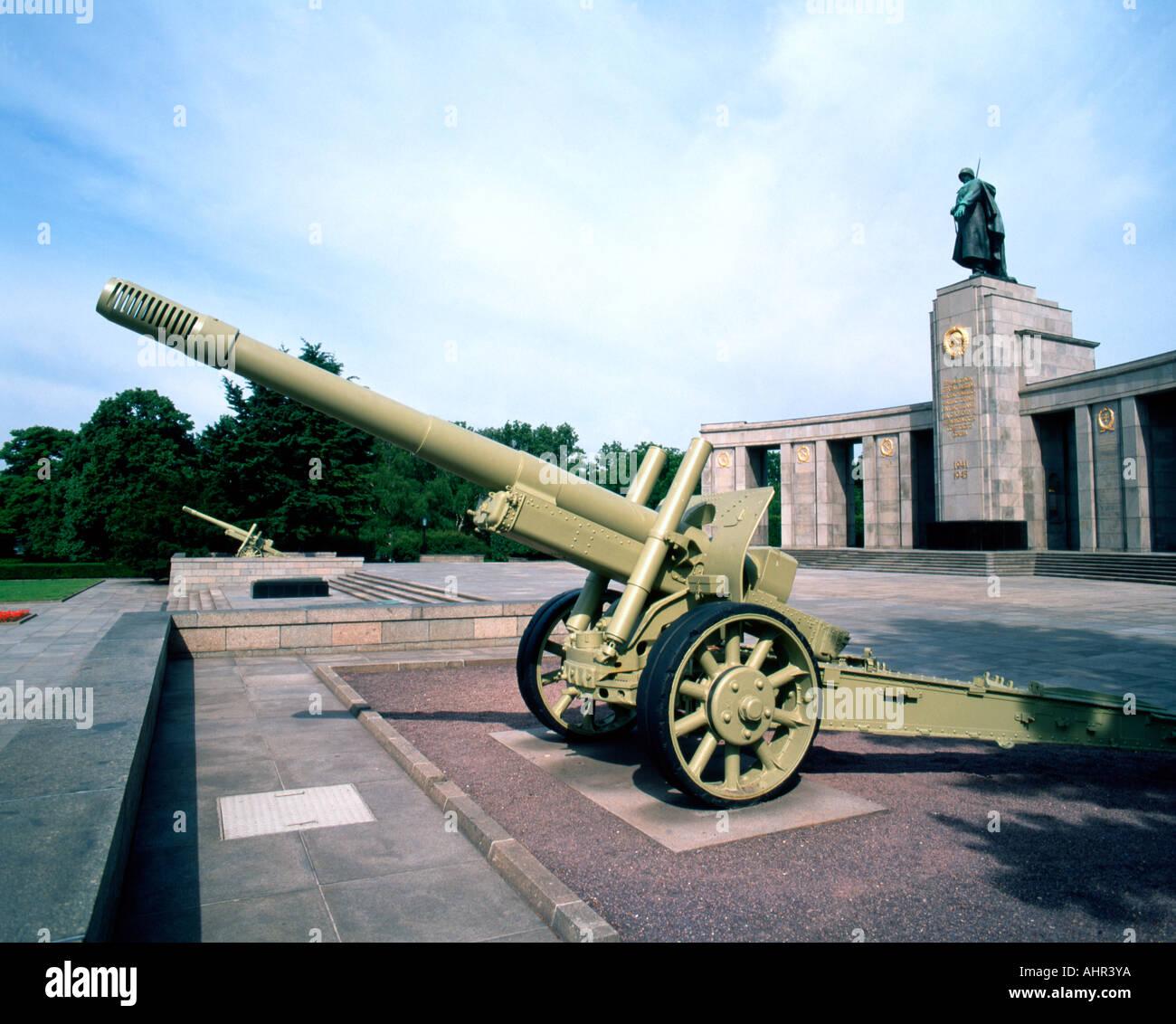 Memorial de Guerra de la Federación de Rusia, Berlín, Alemania Imagen De Stock