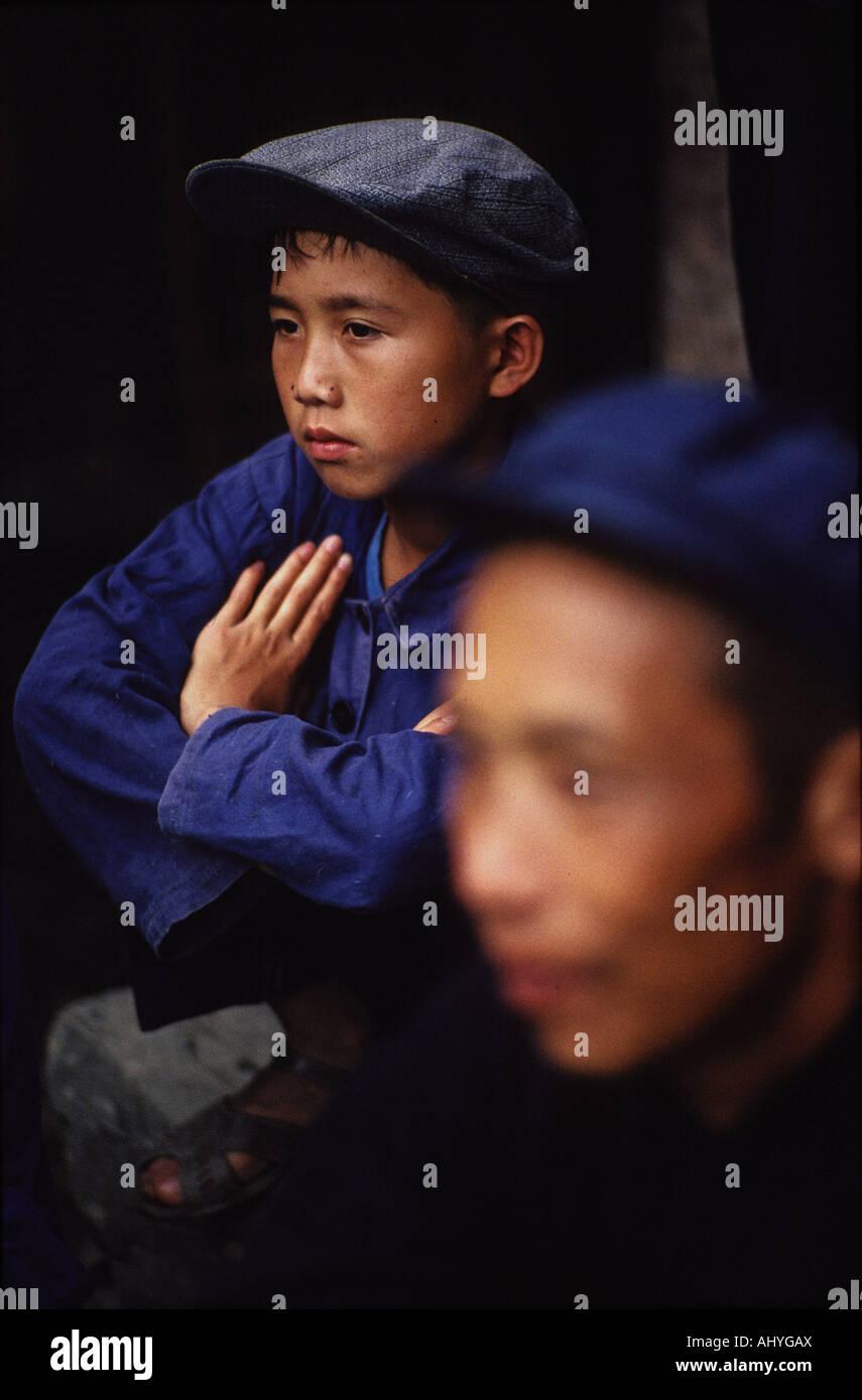 China, en la provincia de Guizhou Foto de stock