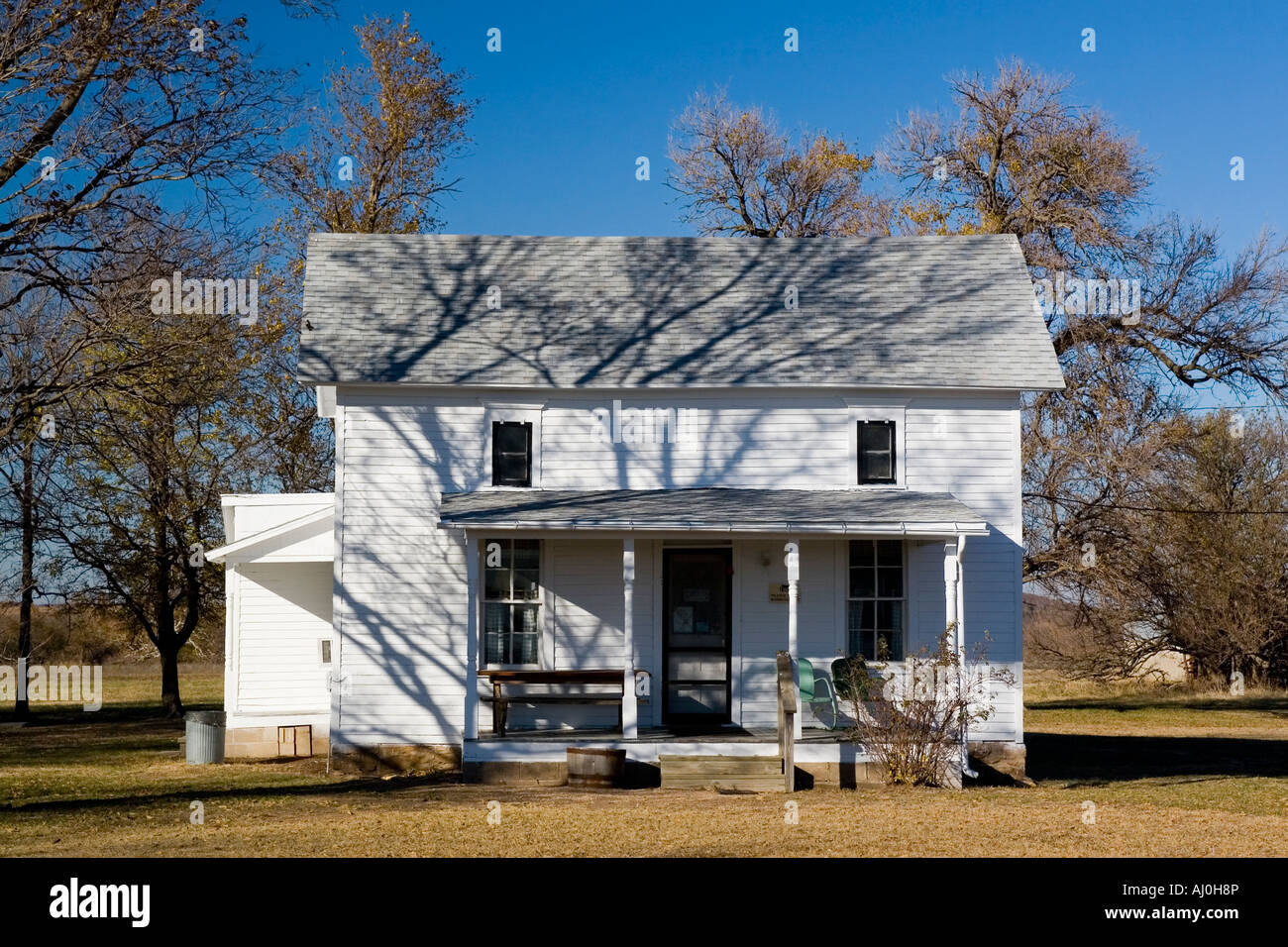 Kansas Farm House Imágenes De Stock & Kansas Farm House Fotos De ...