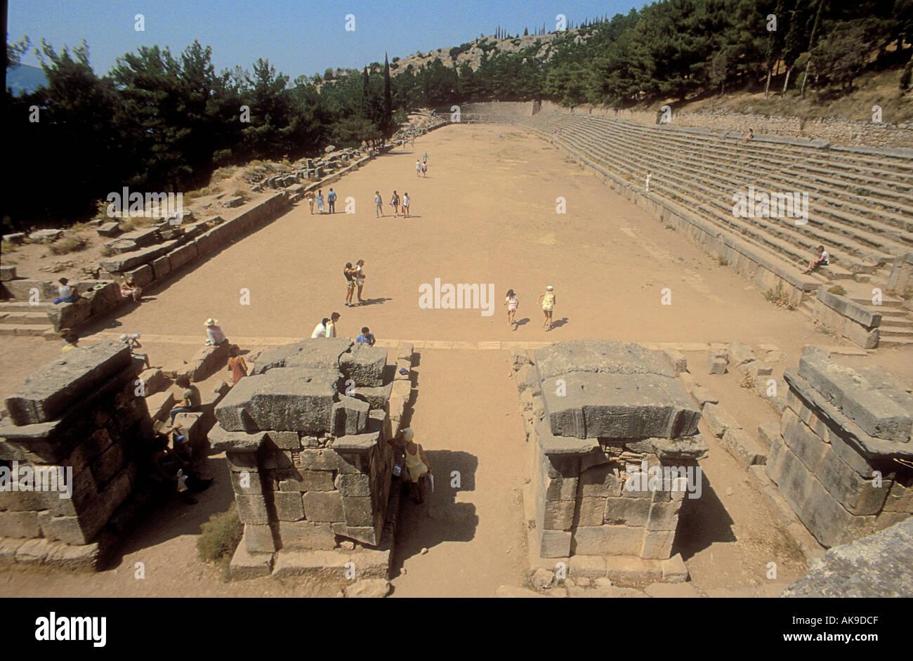 El Sitio De Los Primeros Juegos Olimpicos Antiguos En El Monte