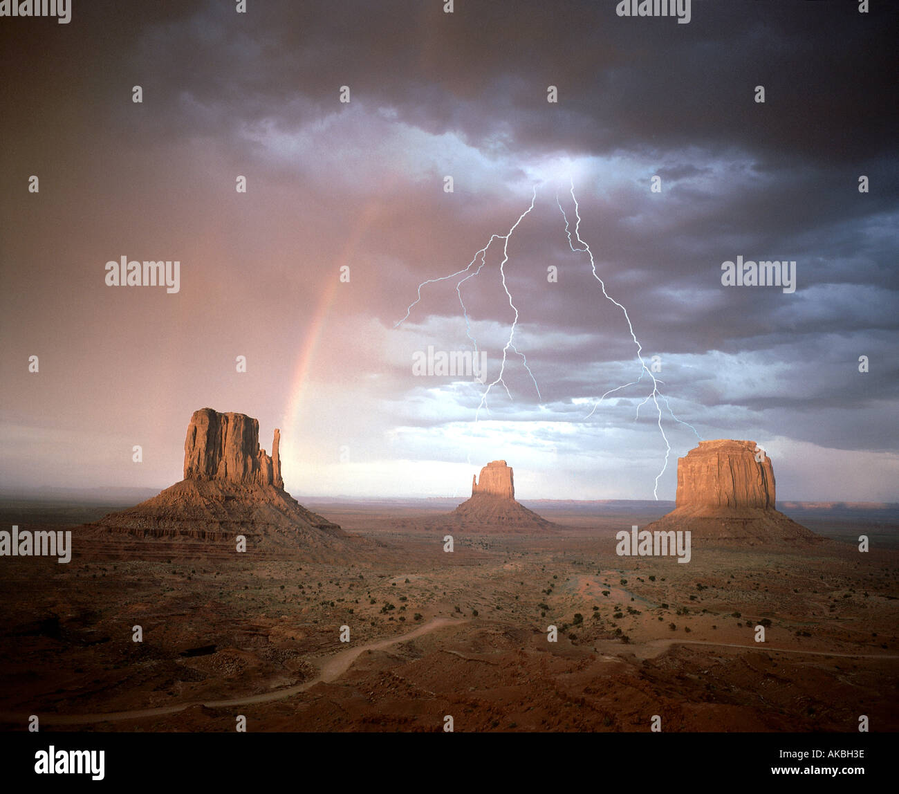 Estados Unidos - Arizona: Monument Valley Navajo Tribal Park Imagen De Stock