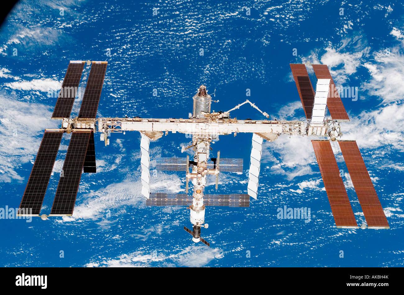 La Estación Espacial Internacional Imagen De Stock