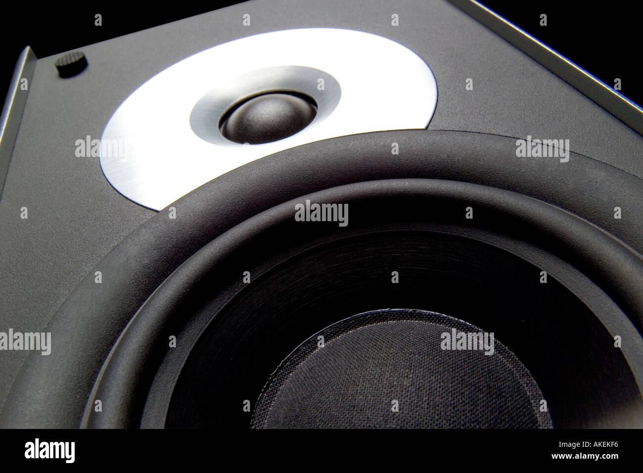 Altavoces Foto de stock