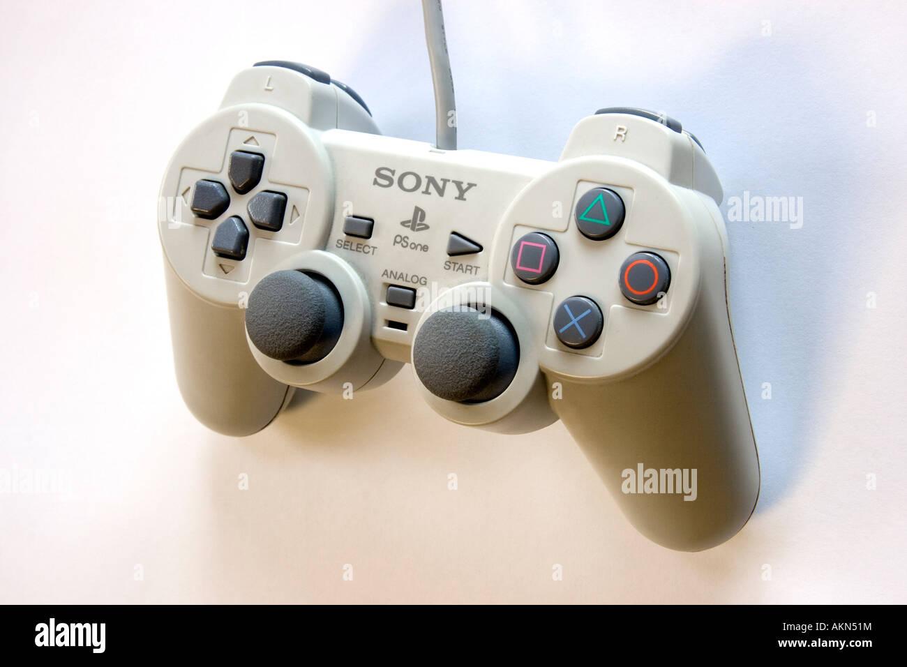 Un pad de Playstation de Sony Foto de stock