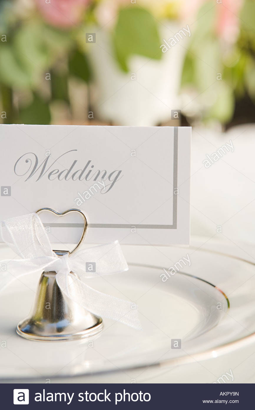 Lugar en una boda Imagen De Stock