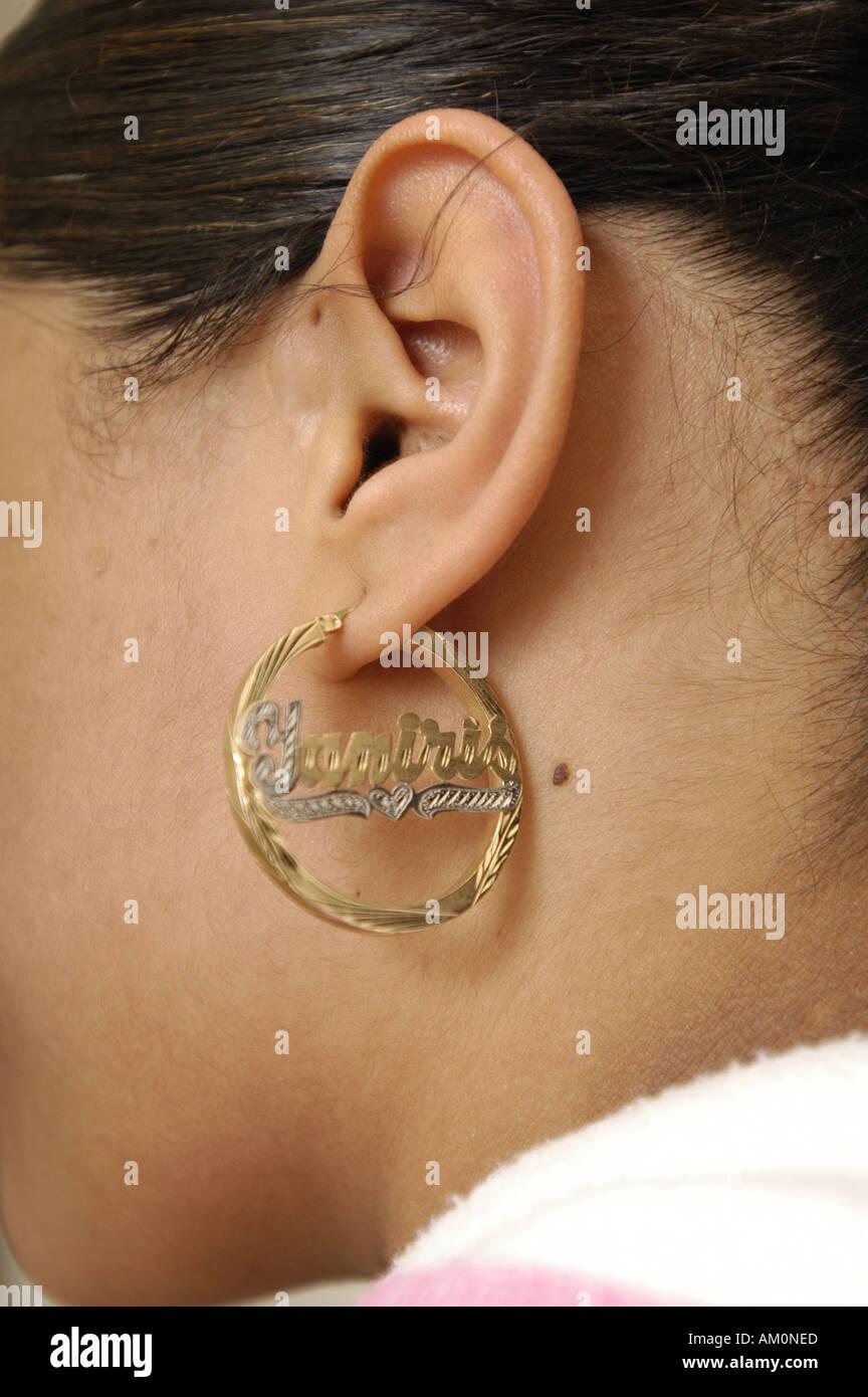 a73cc833ae42 Arete aretes grandes orejas la perforación de las orejas perforadas orejas  audiencia dangly audífonos pendientes