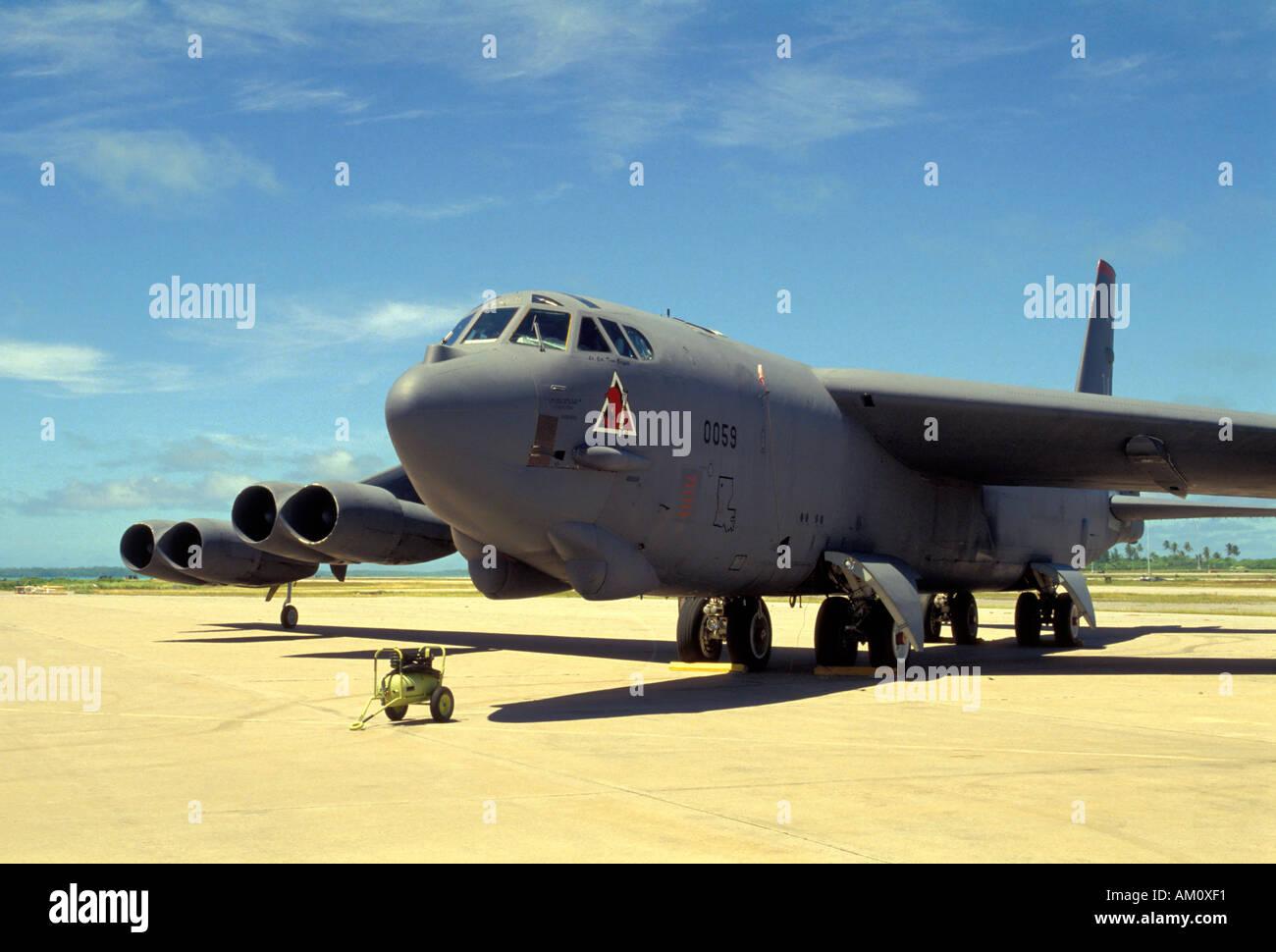 Bombardero Boeing B52 Foto de stock