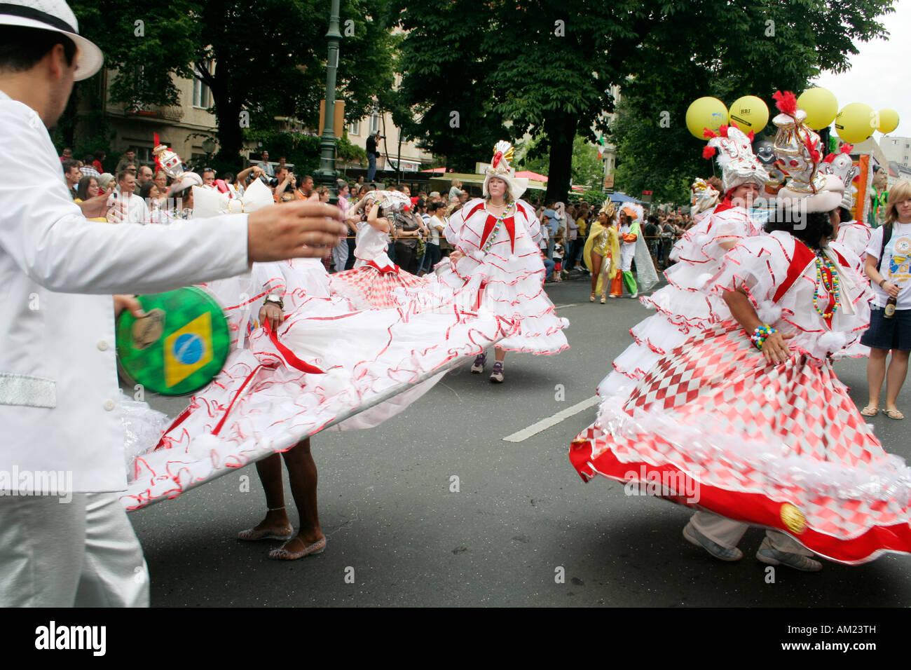 Carnaval de las Culturas, Kreuzberg, Berlín, Alemania Imagen De Stock
