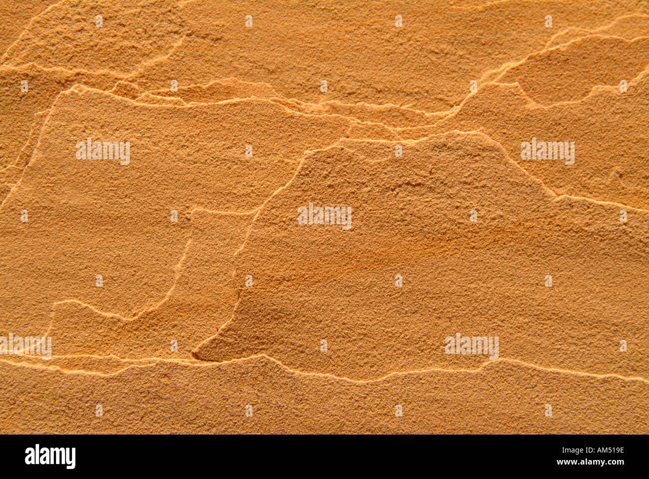 Antecedentes de arenisca en capas de color naranja Imagen De Stock