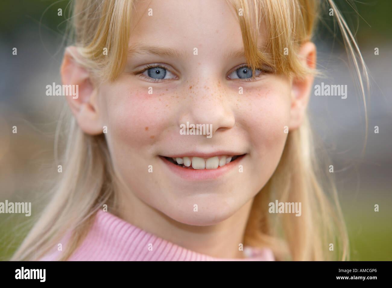 Retrato de Tess Imagen De Stock