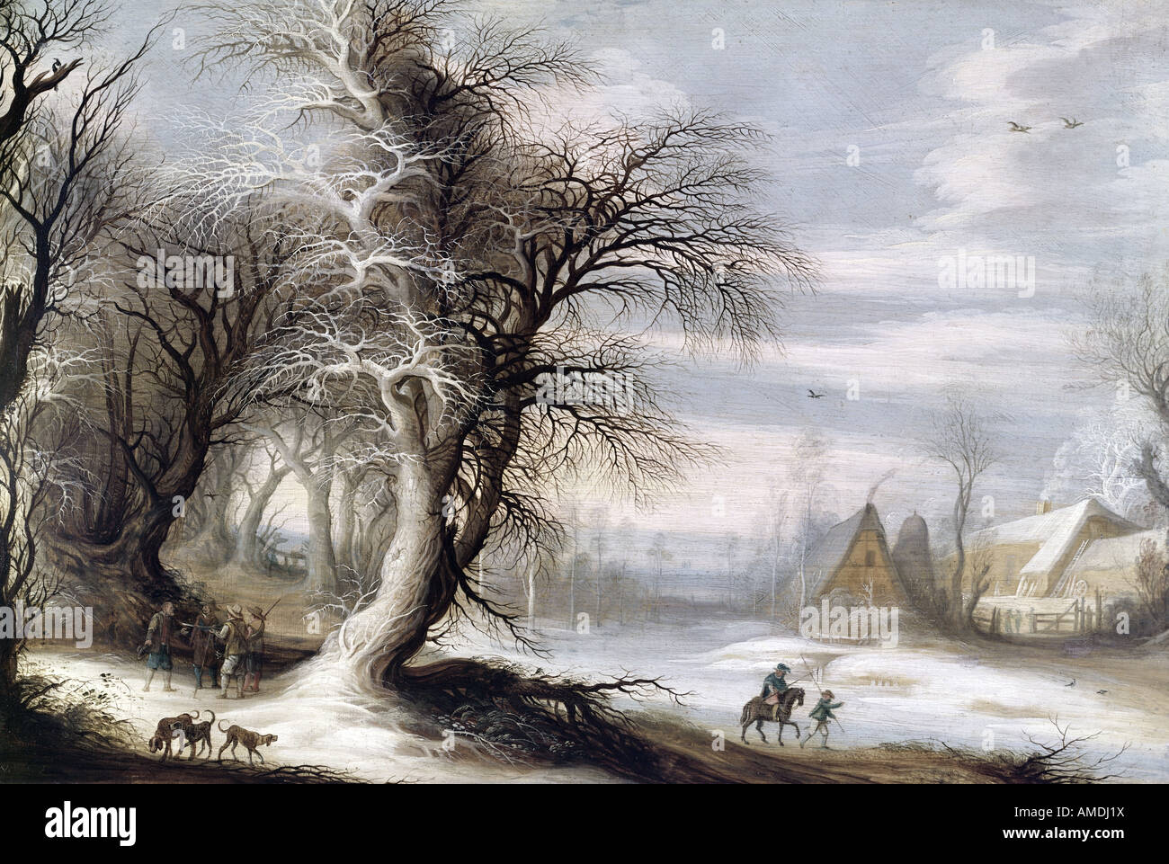 """Bellas Artes, Liebermann, Max (1847 - 1935), pintura, 'Schulgang en Laaren' ('ir a la escuela Imagen De Stock"