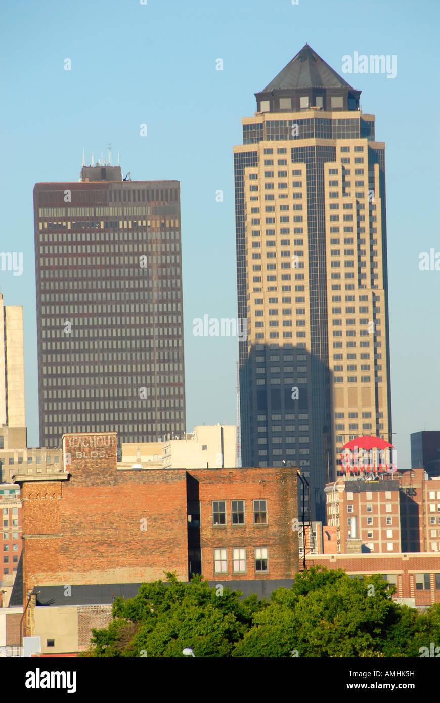 Des Moines Skyline Imágenes De Stock & Des Moines Skyline Fotos De ...