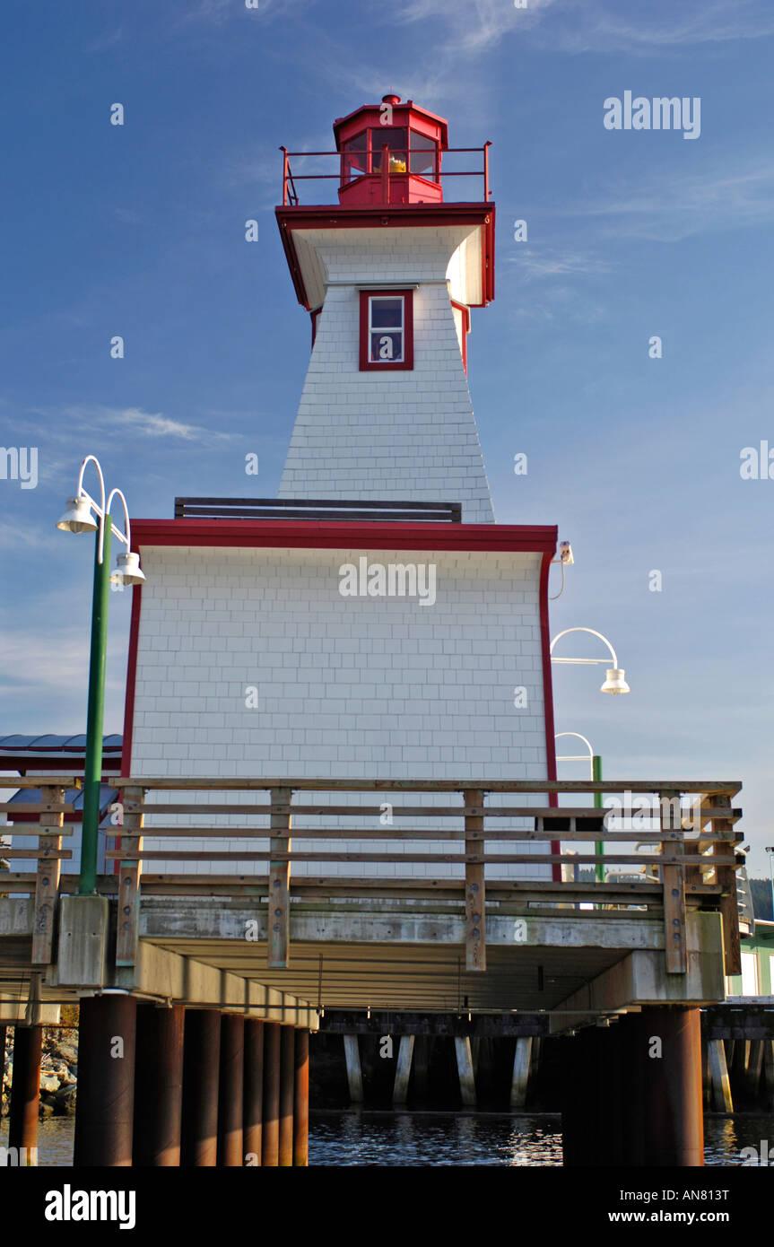 Centro de Descubrimiento marítimo Port Alberni BC British Columbia Canadá Foto de stock