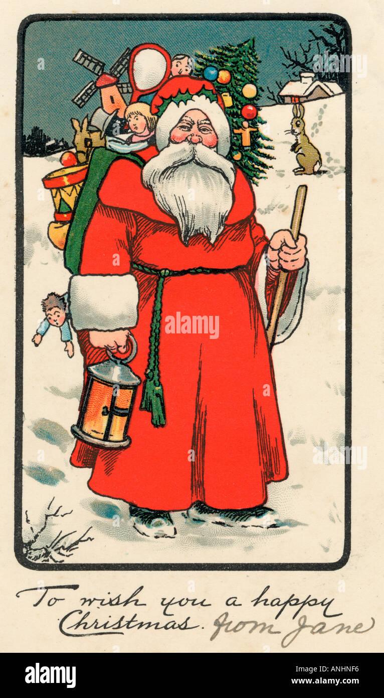Padre de Navidad Foto de stock