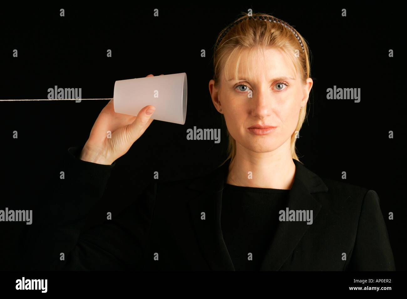 El concepto de comunicación Imagen De Stock