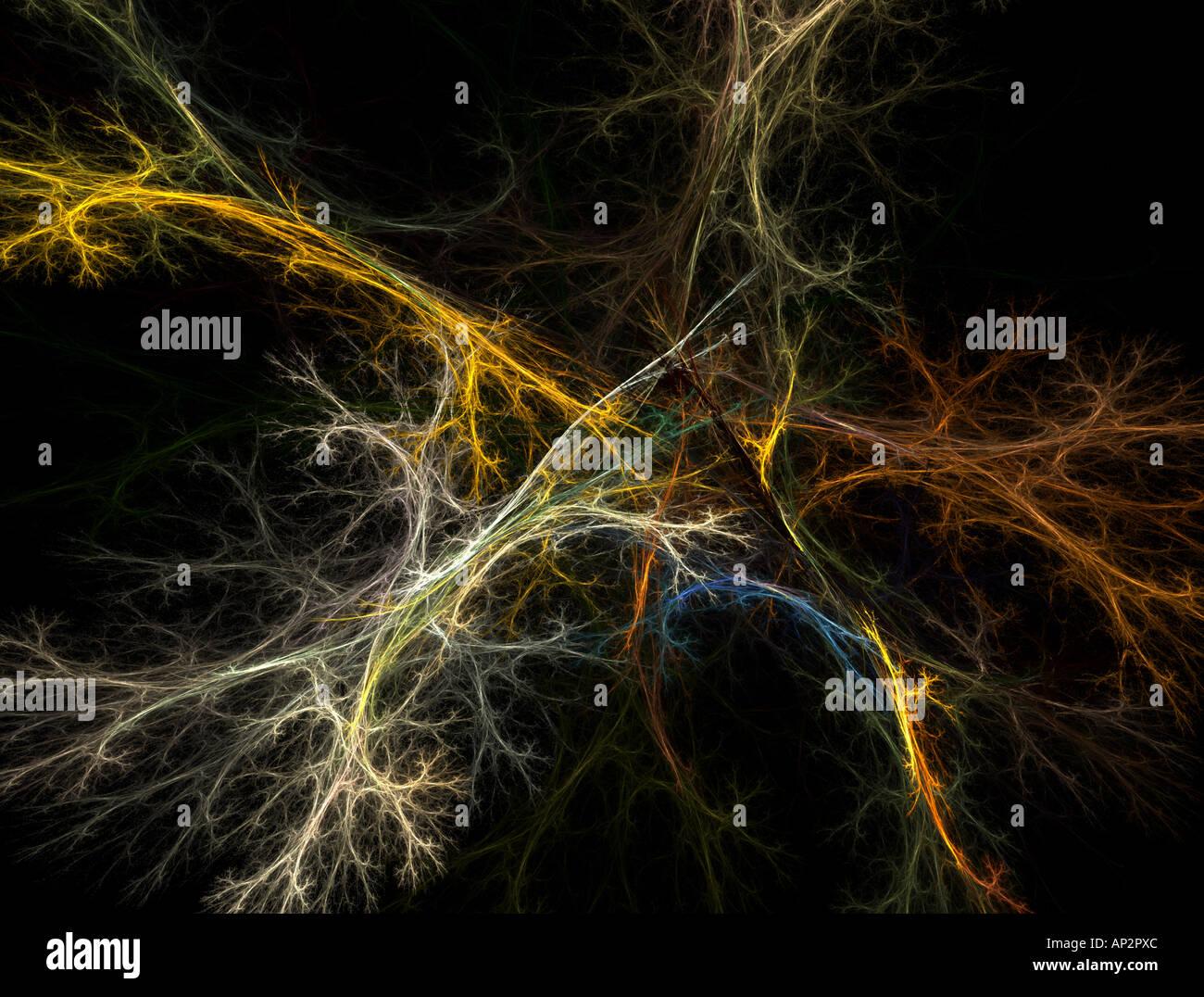 Resumen de la neurona Imagen De Stock