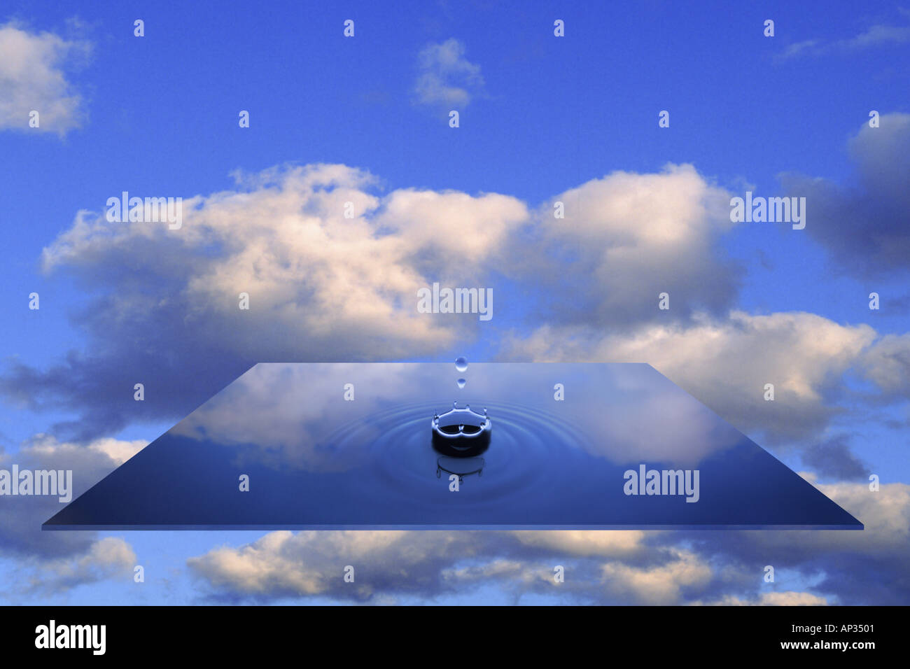 Concepto de agua Imagen De Stock