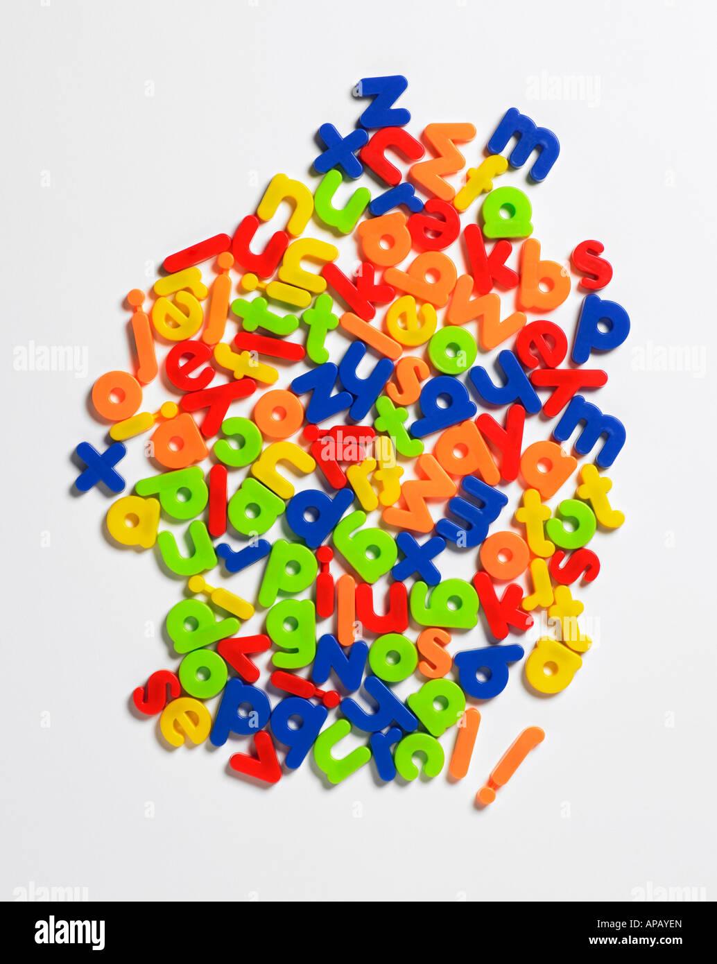 cartas plástico Imagen De Stock