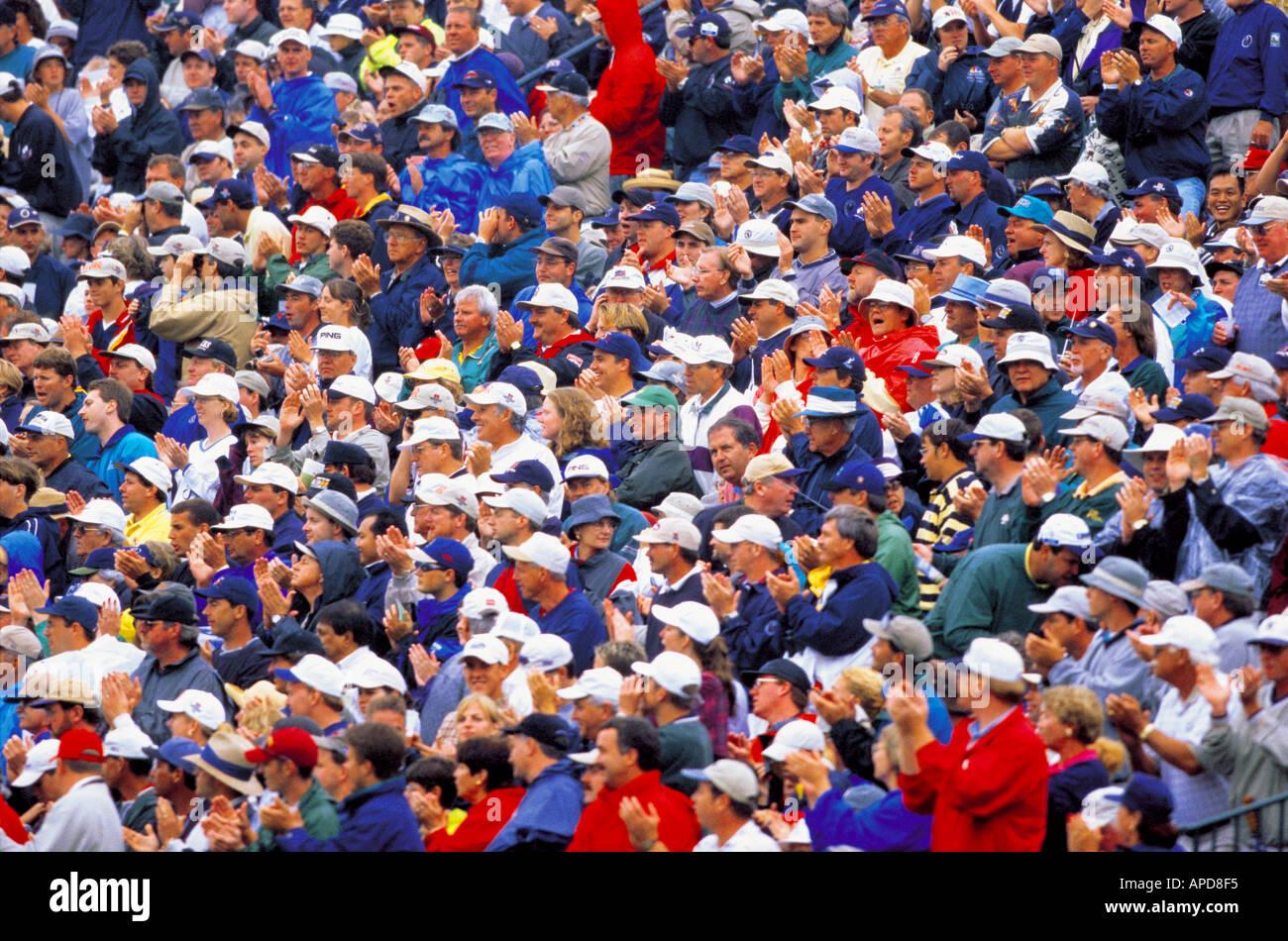 El deporte de espectadores Foto de stock