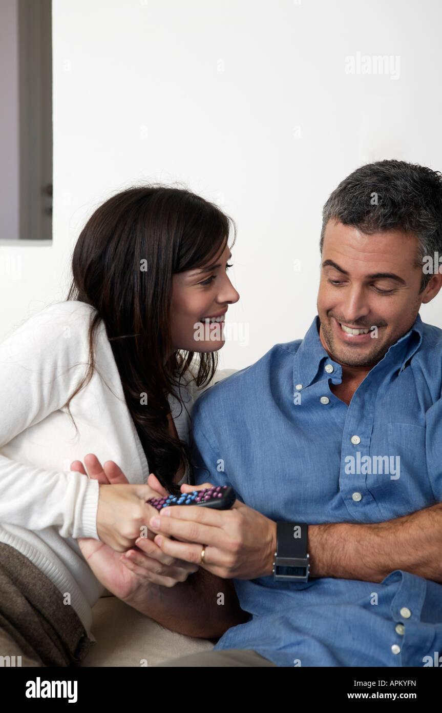 Retrato de pareja Imagen De Stock