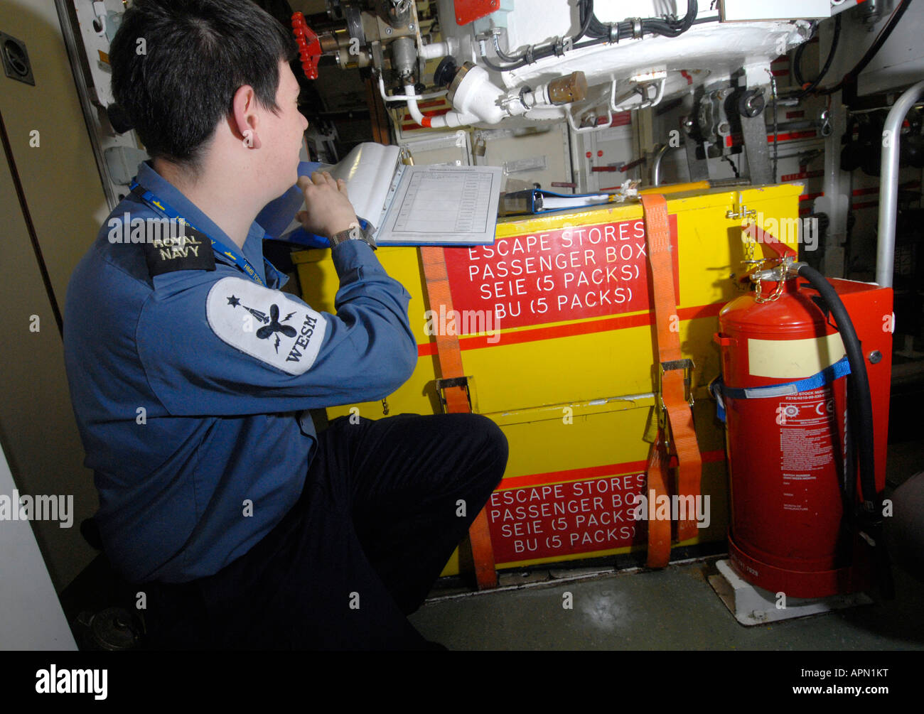 Submarino nuclear HMS Tireless (S88) Imagen De Stock