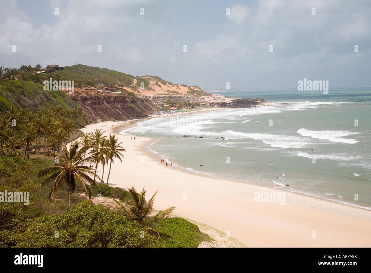 Pipa, la playa Praia do Amor, Rio Grande do Norte, Brasil Imagen De Stock