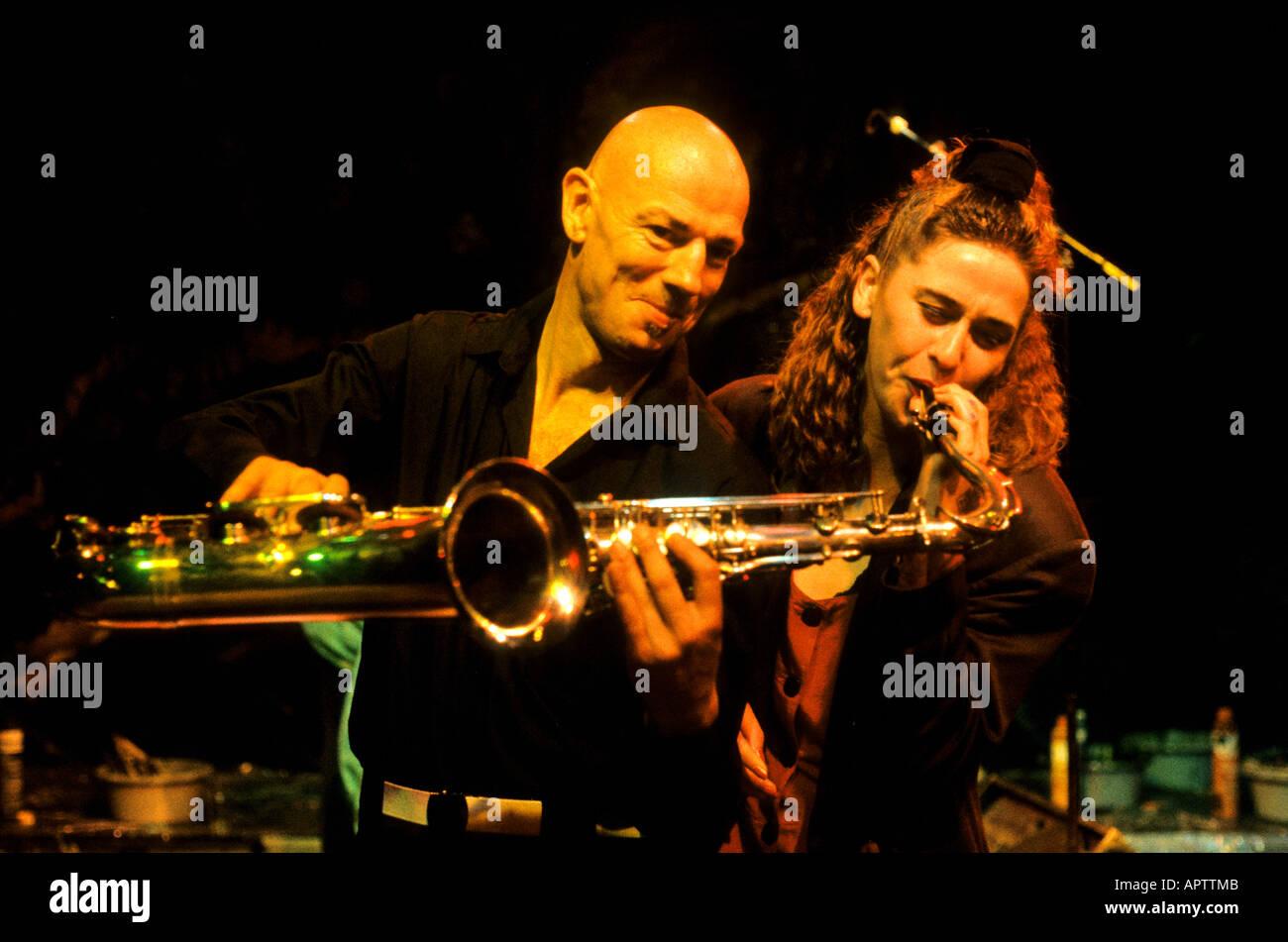 Amsterdam música Concierto de música Rock and Roll night live Foto de stock
