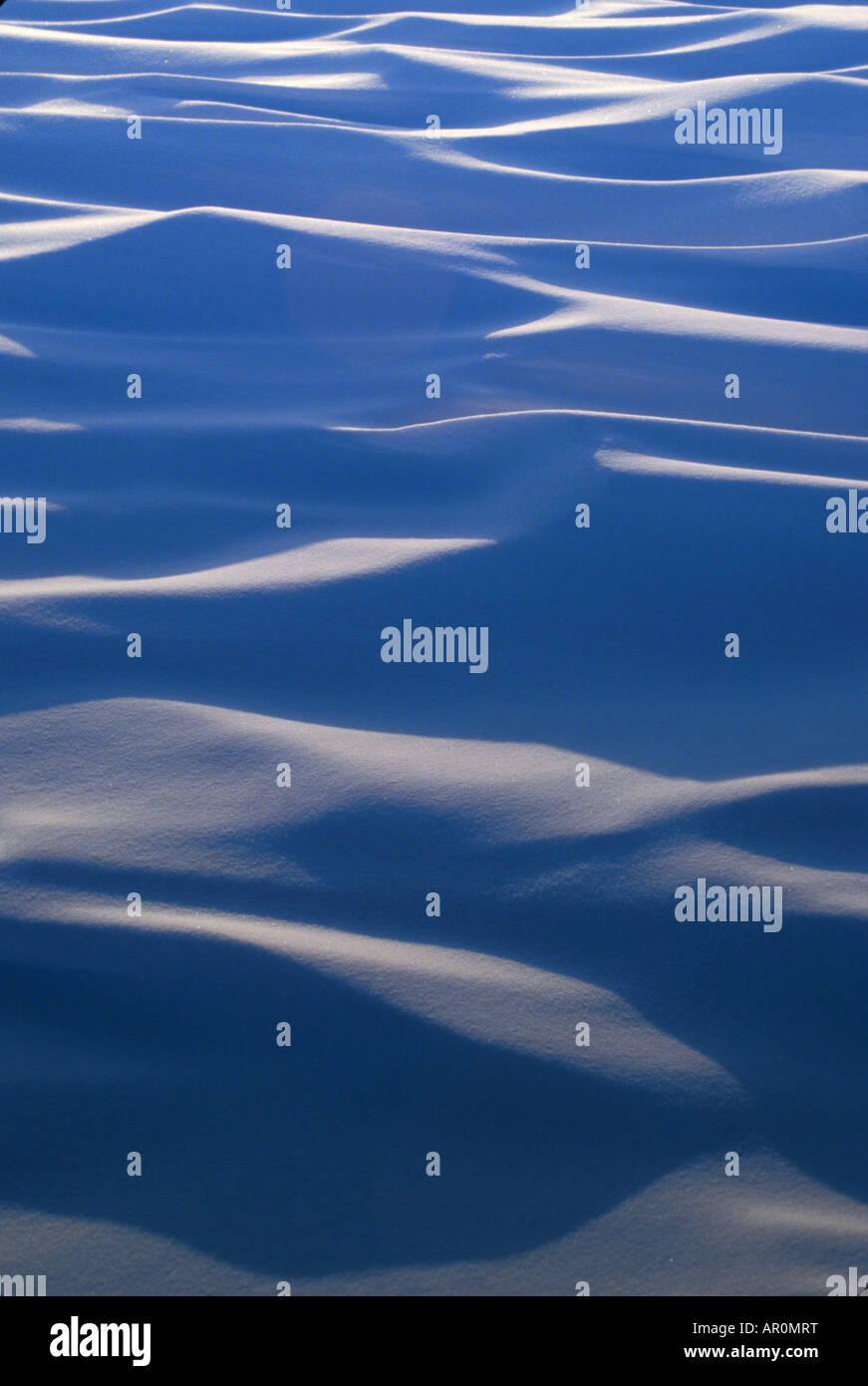 Snow Drift patrón AK de invierno Imagen De Stock